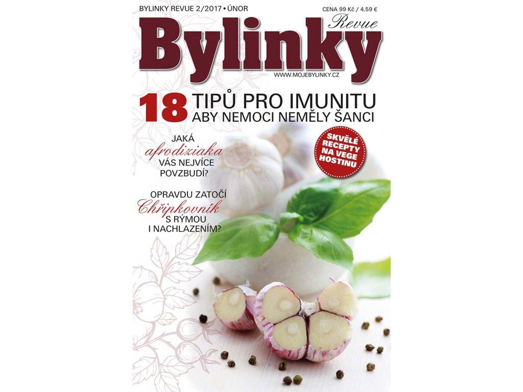 Bylinky revue 2/2017  18 TIPŮ PRO SILNOU IMUNITU