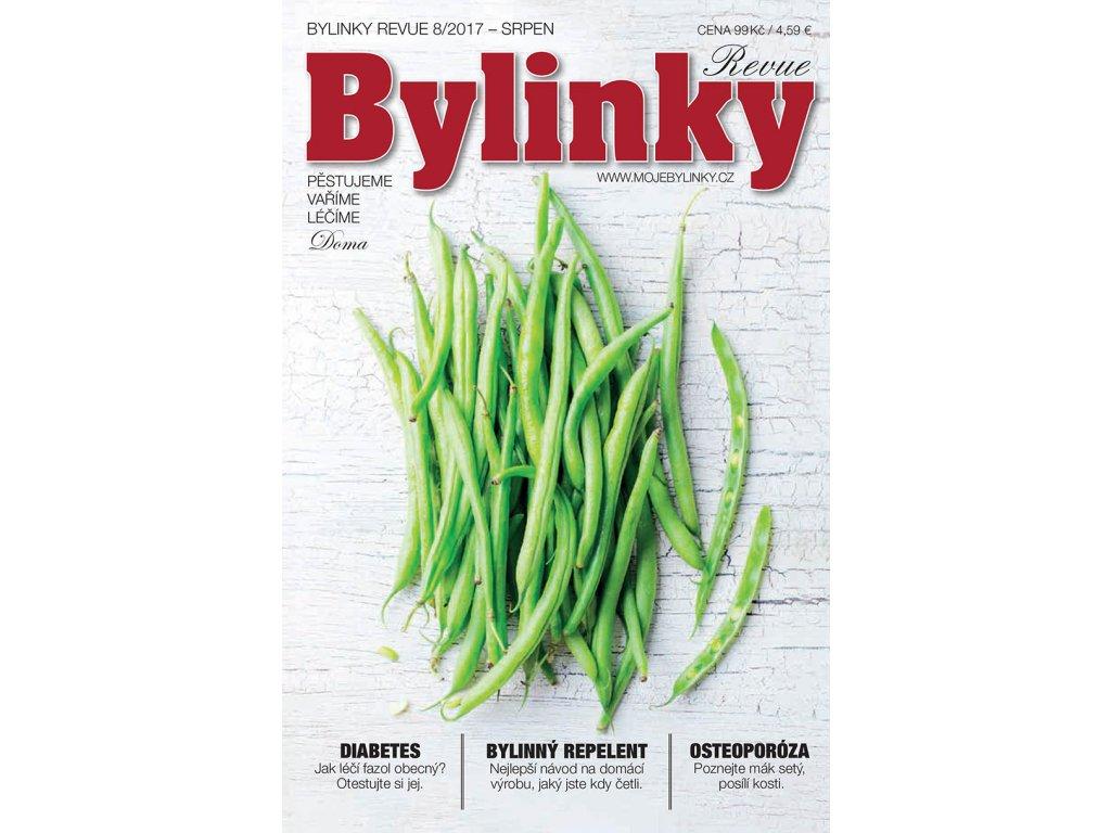 Bylinky revue 8/2017  DIABETES, BYLINNÝ REPELENT, OSTEOPORÓZA