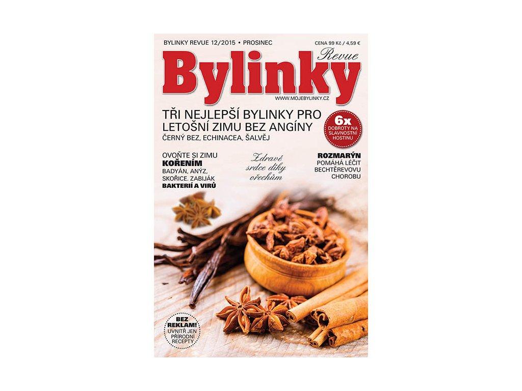 Bylinky revue 12/2015  PROTI CHŘIPCE A HOREČCE