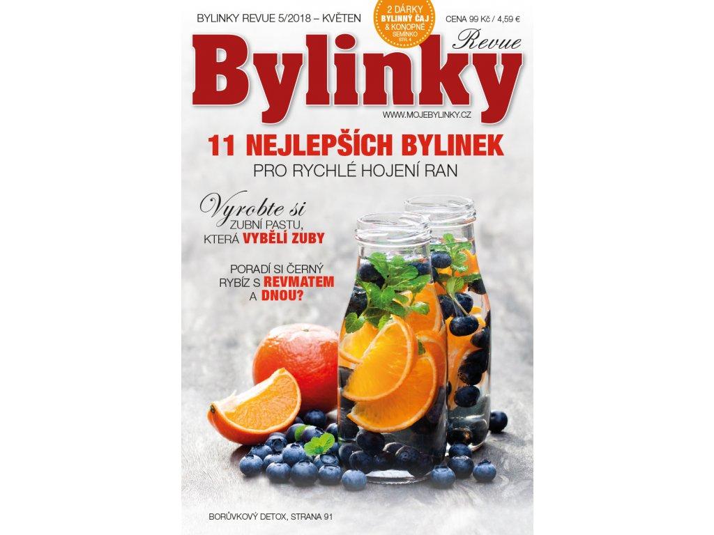 Bylinky revue 5/2018  11 NEJLEPŠÍCH BYLINEK PRO RYCHLÉ HOJENÍ RAN