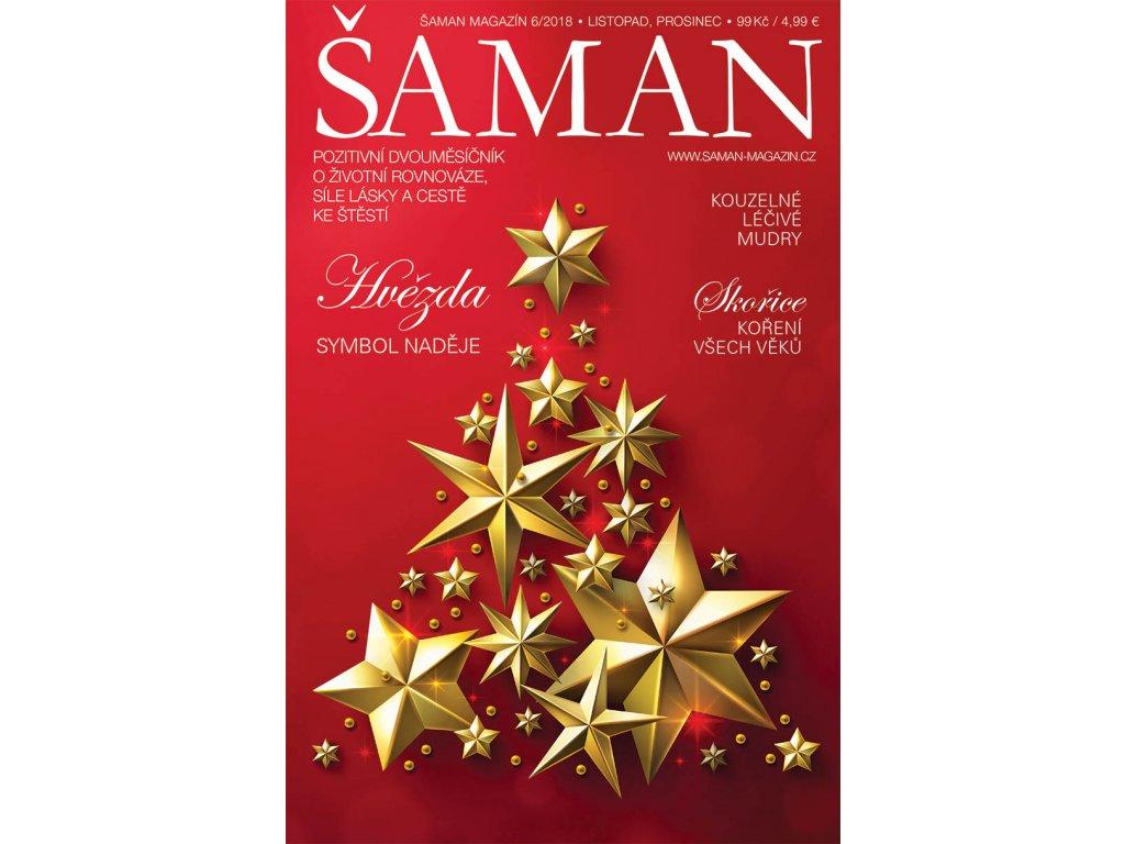 Šaman magazín 6/2018  Vánoční Šaman, vychází 30.10.2018