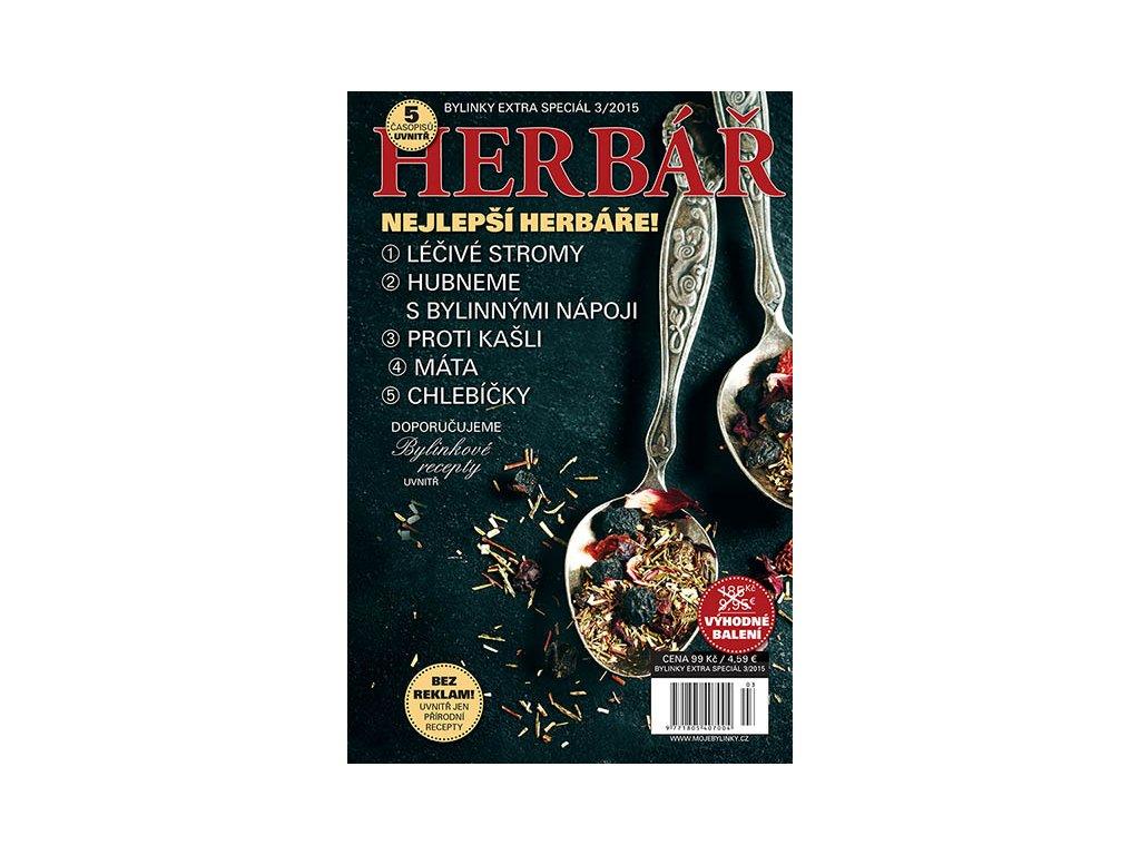 Nejlepší Herbáře 5 časopisů  Uvnitř 5 nejlepších časopisů Herbář, pěkně svázaných dohromady, výhodná cena.